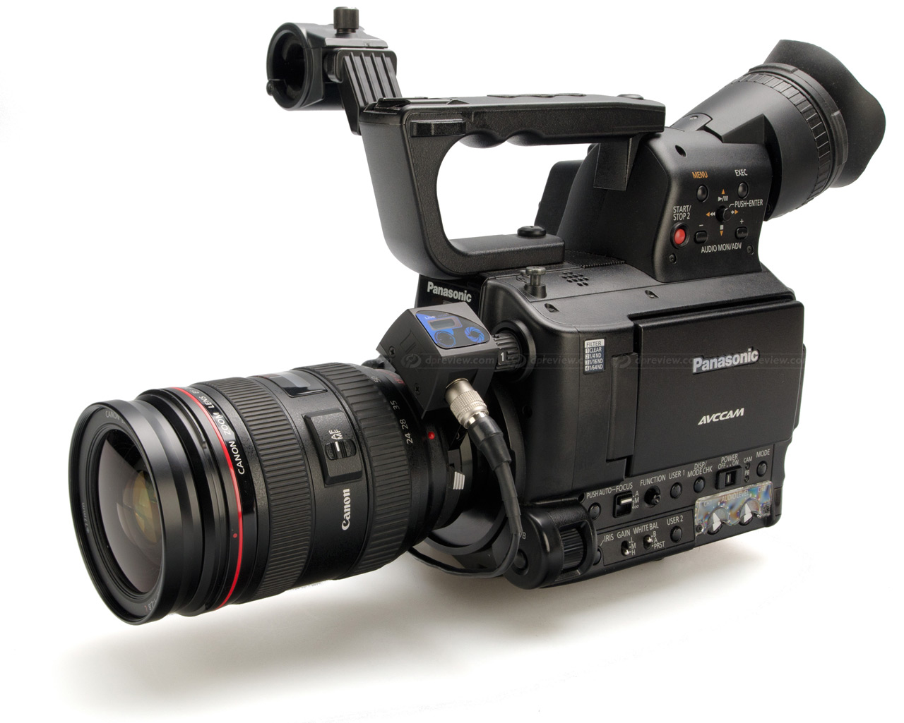 Photography Camera Red Rock Set with Infrared Remote Control for Sony