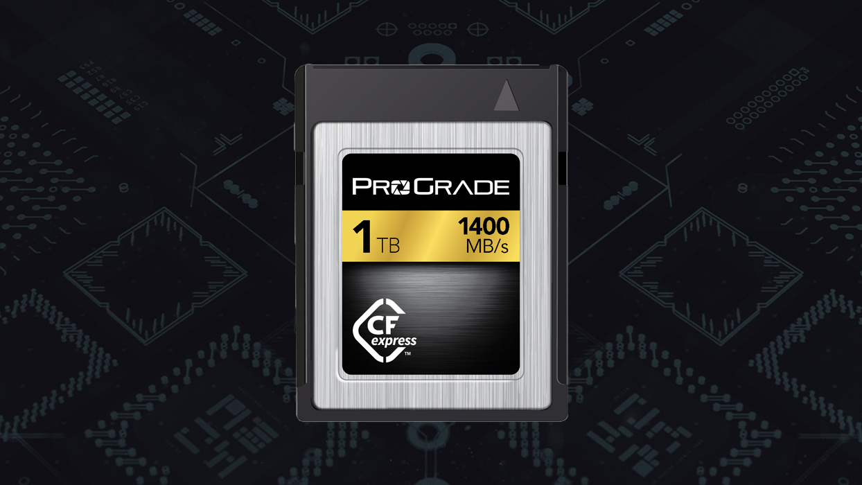 ProGrade demonstrates first ever 1TB CFexpress card with