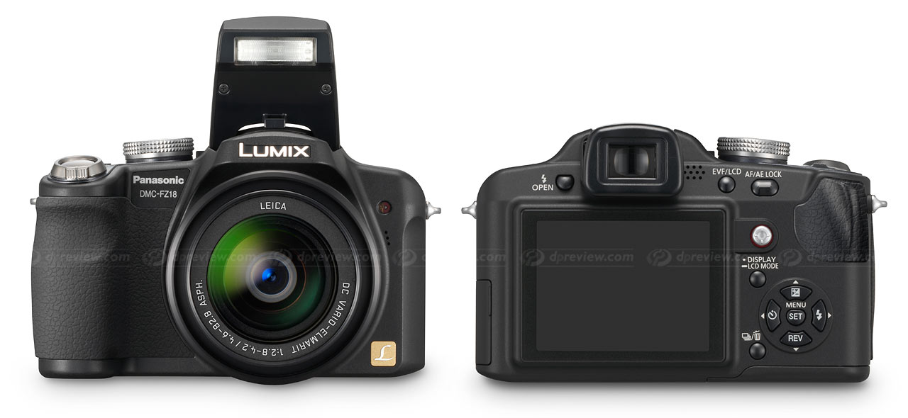 panasonic dmc fz18 digital photography review