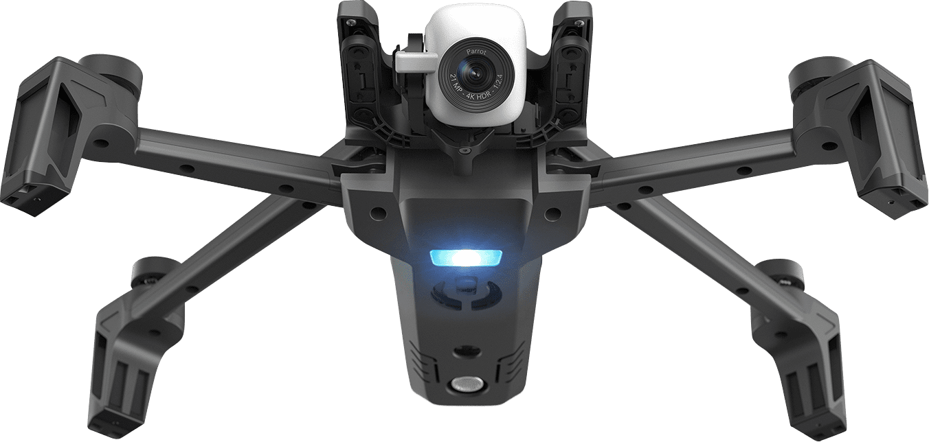 Parrot launches Anafi, a foldable 4K drone that shoots HDR video