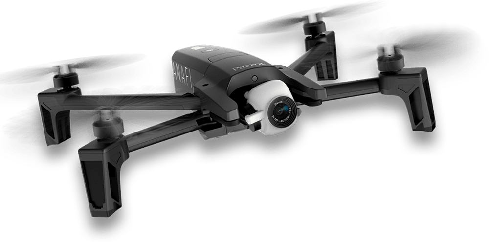 Parrot launches Anafi, a foldable 4K drone that shoots HDR