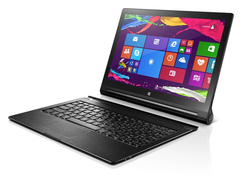 Lenovo launches 13.3-inch Yoga 2 Pro tablet with built-in ...
