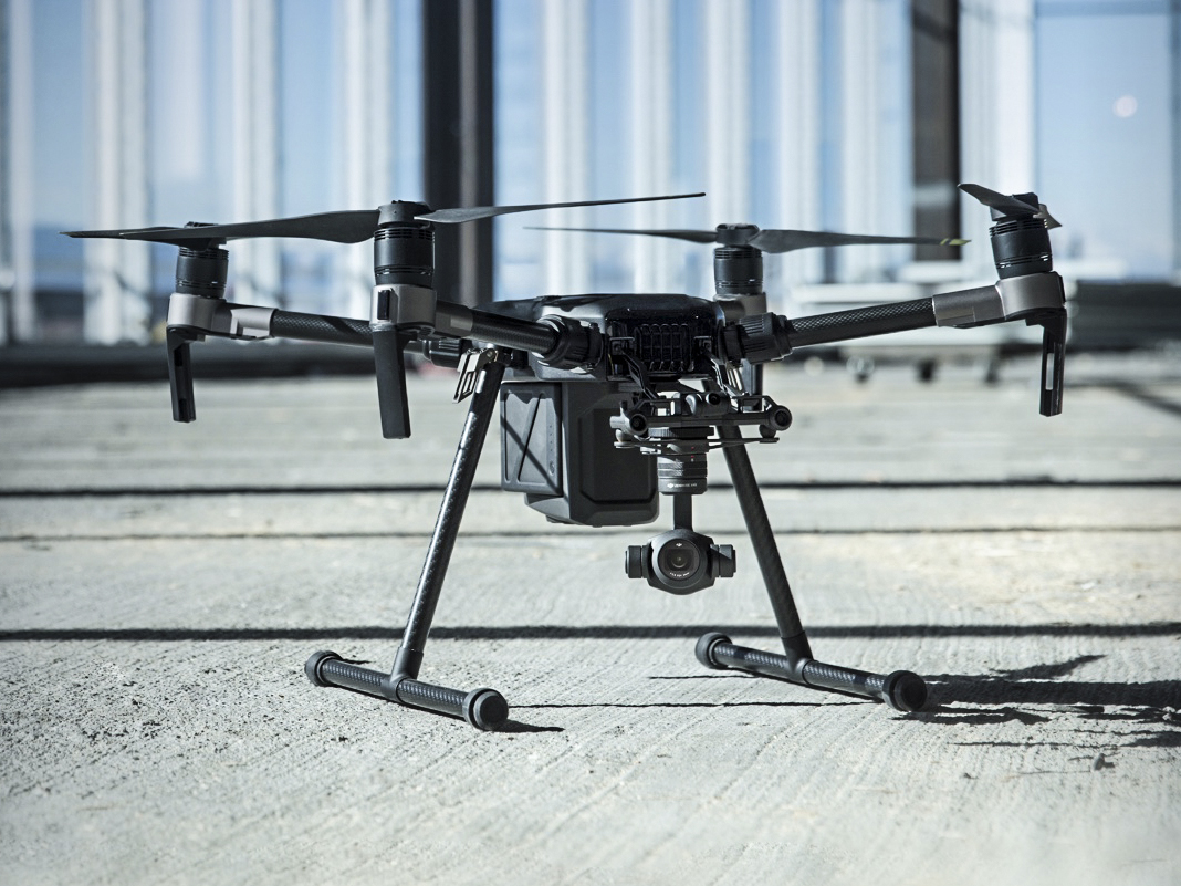 DJI drones temporarily restricted in UK after reports of