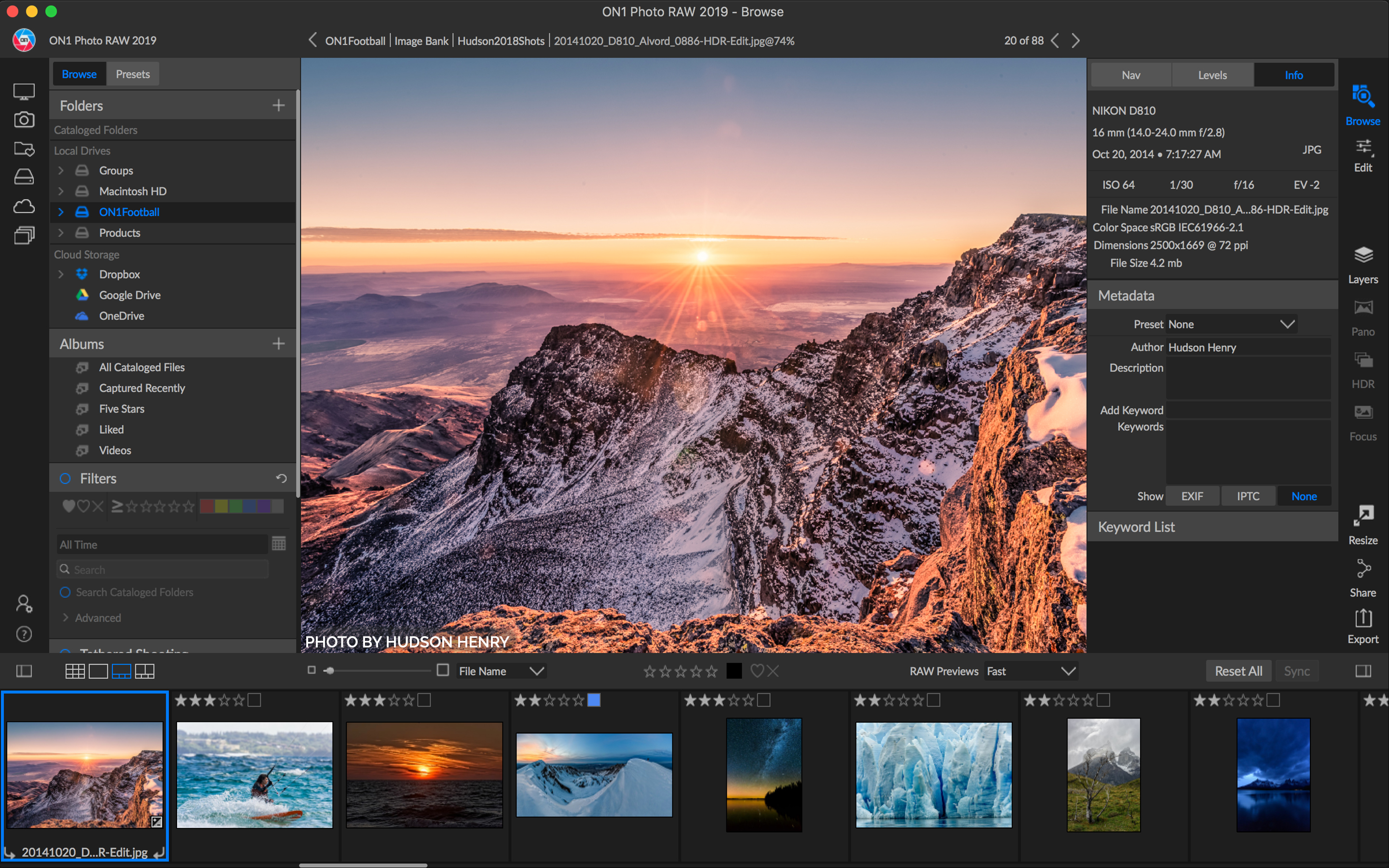 ON1 Photo RAW 2019 arrives with new UI, AI-powered Lightroom