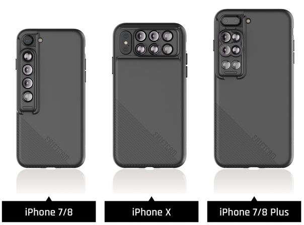 on sale fa1f8 930b4 Shiftcam 2.0 iPhone add-on offers 6-in-1 lens-slider and 'Pro' lens ...
