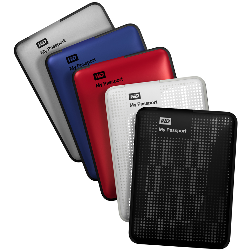 western digital launches 2tb 39 my passport 39 portable hard. Black Bedroom Furniture Sets. Home Design Ideas