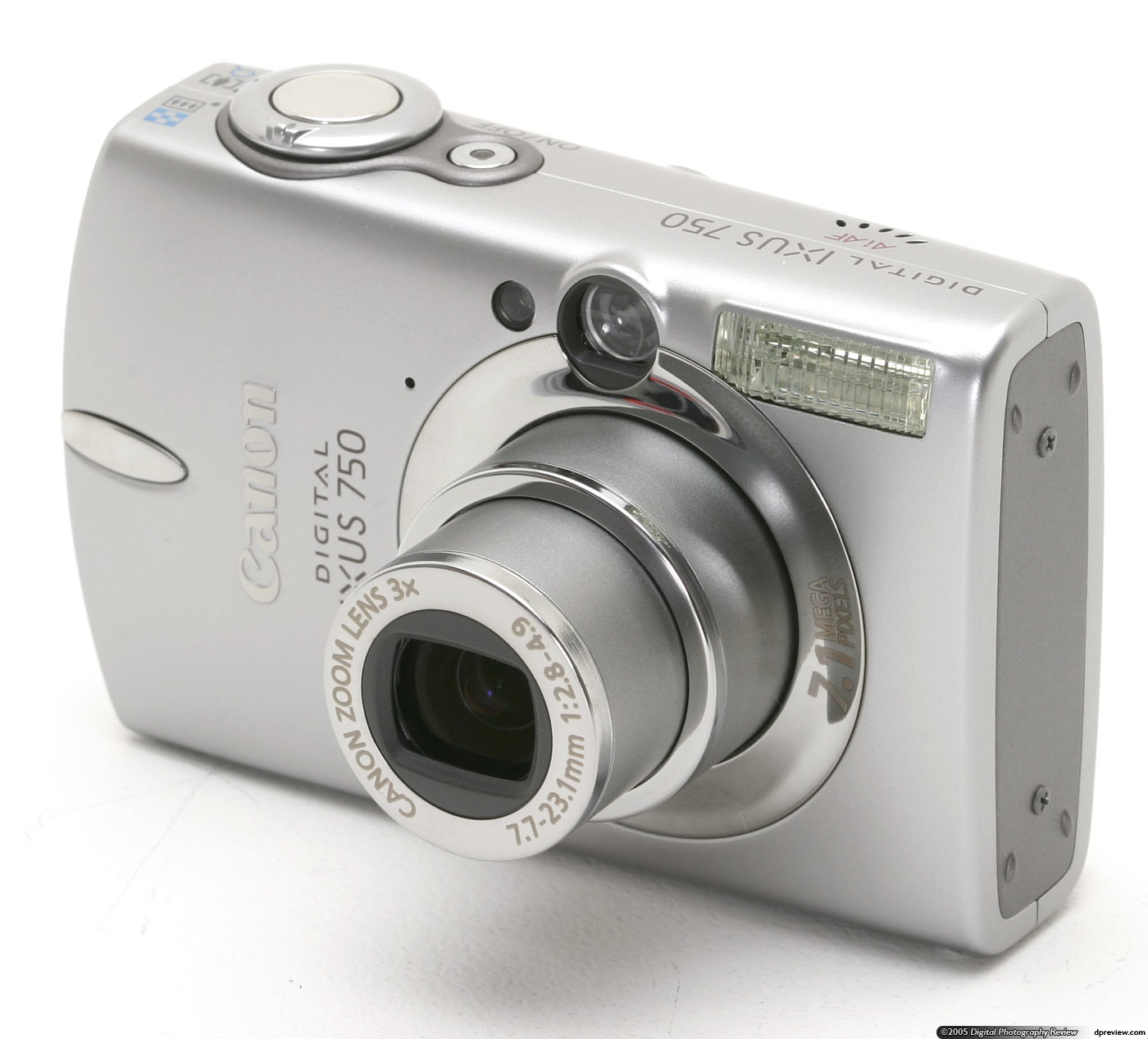 Canon PowerShot SD550 Digital ELPH (Digital IXUS 750) Review: Digital  Photography Review