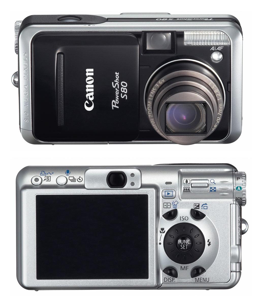 Canon PowerShot S80 Windows 8 X64