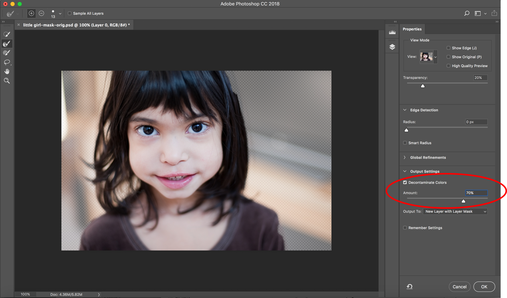 Photoshop CC update adds AI-powered subject selection tool