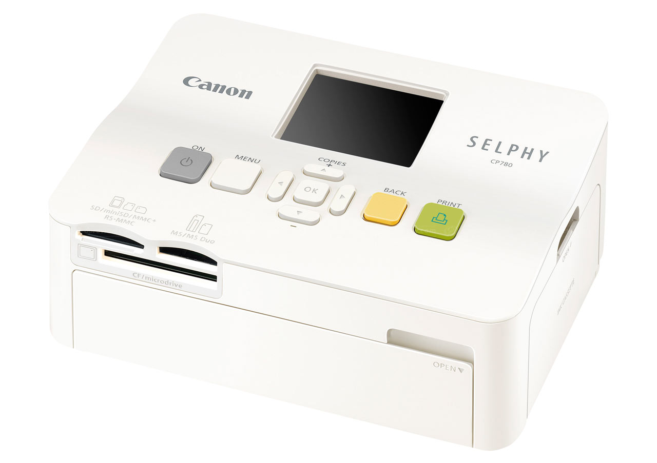 Canon announces Selphy CP780 photo printer: Digital