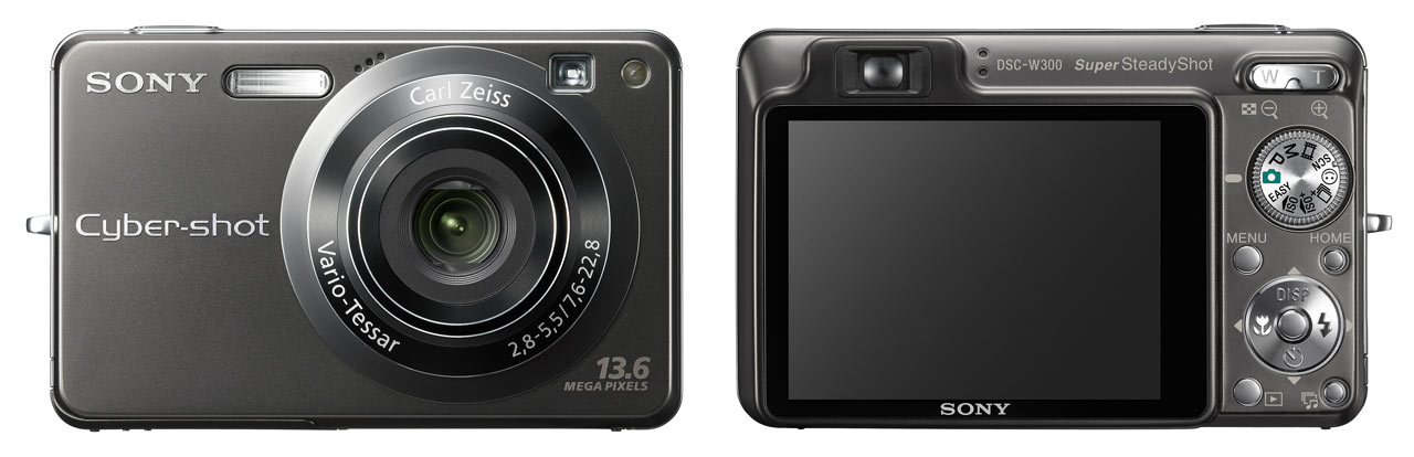 sony launches 13 6mp w300 digital photography review rh dpreview com For Sony Cyber-shot DSC F707 Memory Stick DSC- H3