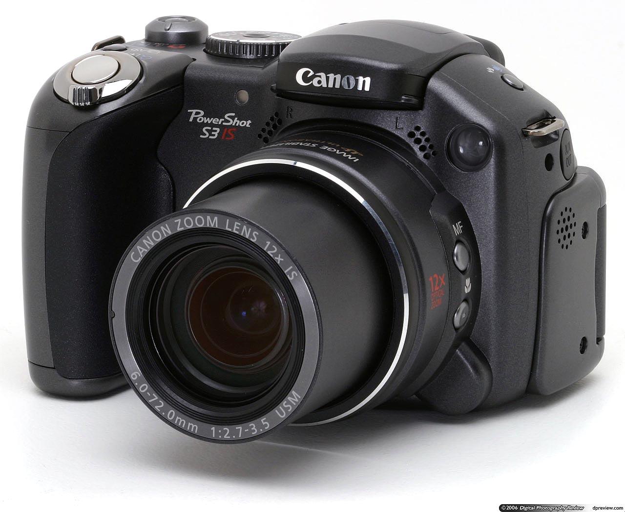 Canon PowerShot S3 IS ...
