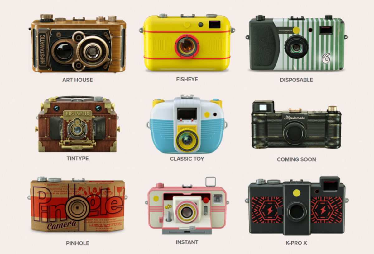 Hipstamatic returns with new free app and updated analog ...