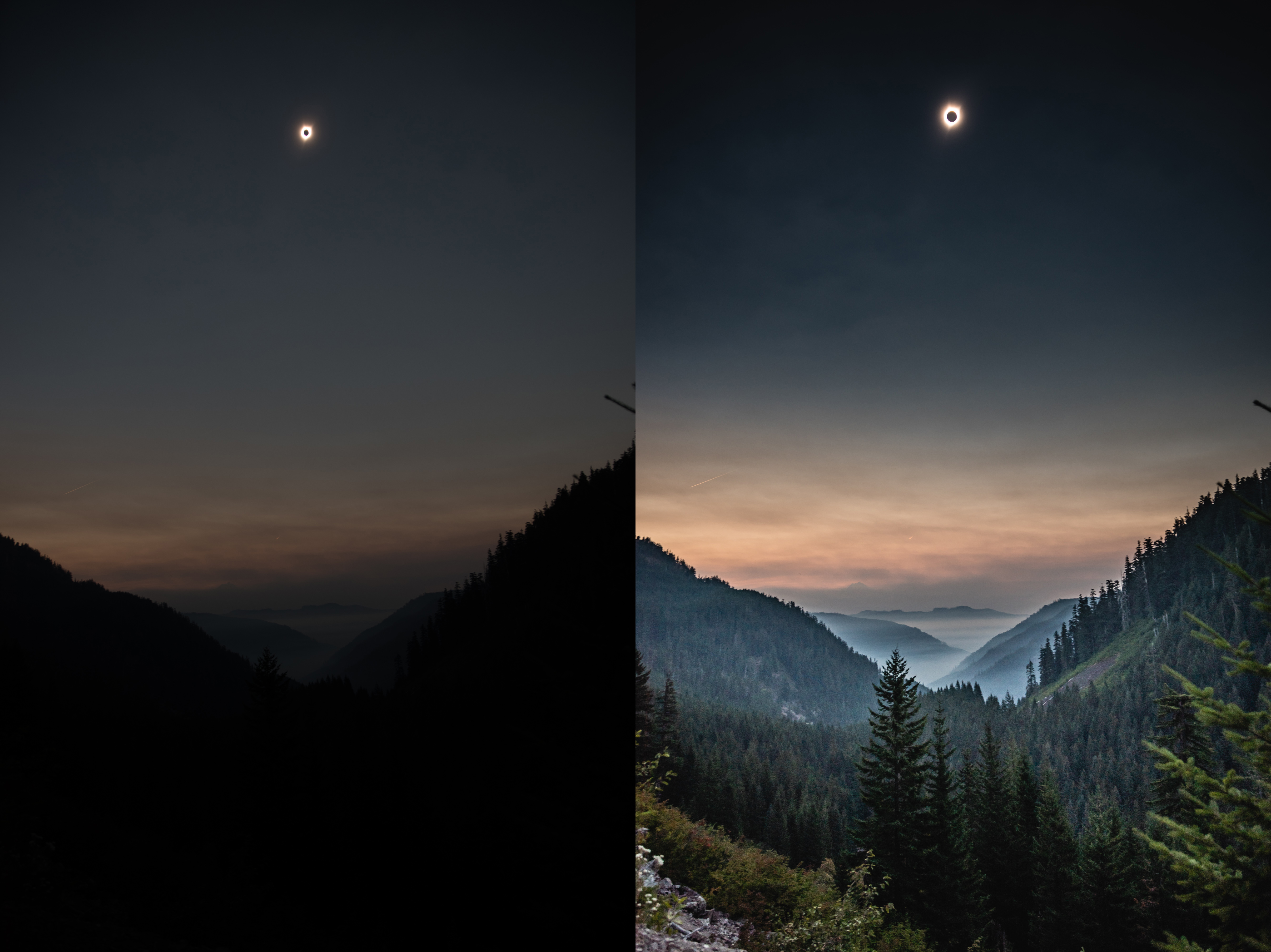 This eclipse photo shows the crazy dynamic range of today's image