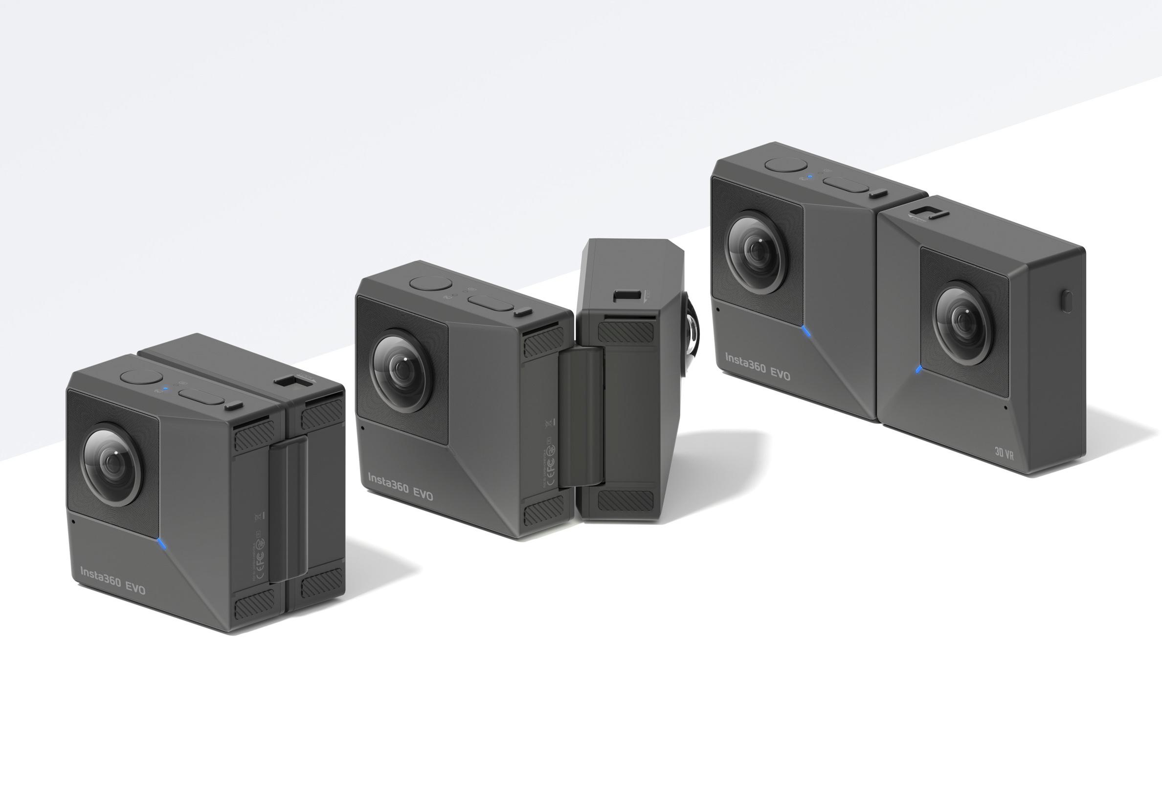 Meet the Insta360 EVO, a foldable camera that shoots 3D 180º