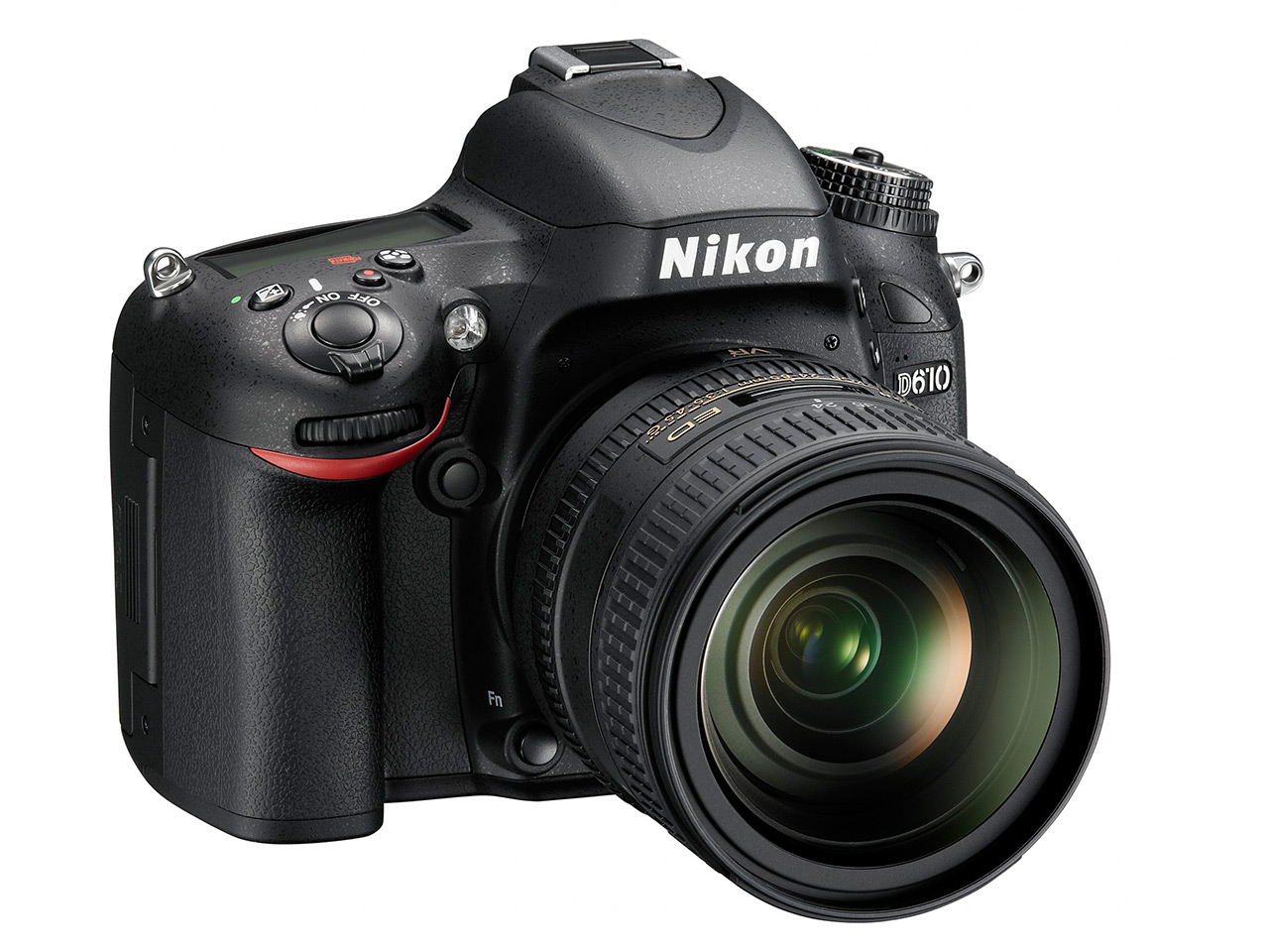 Nikon launches D610 full frame DSLR with updated shutter