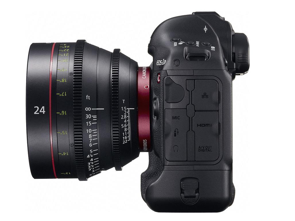 Canon announces EOS-1D C 4K DSLR with 8-bit 4:2:2 1080p HDMI