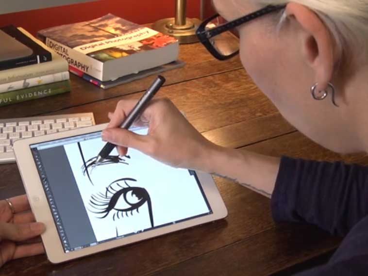 Air Stylus Turns Your Ipad Into A Graphics Tablet Digital